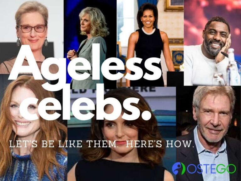 Meryl Streep, Blythe Danner, Michelle Obama, Idris Elba, Julianne Moore, Tina Fey and Harrison Ford all seemingly ageless. Naturally. Learn how here.