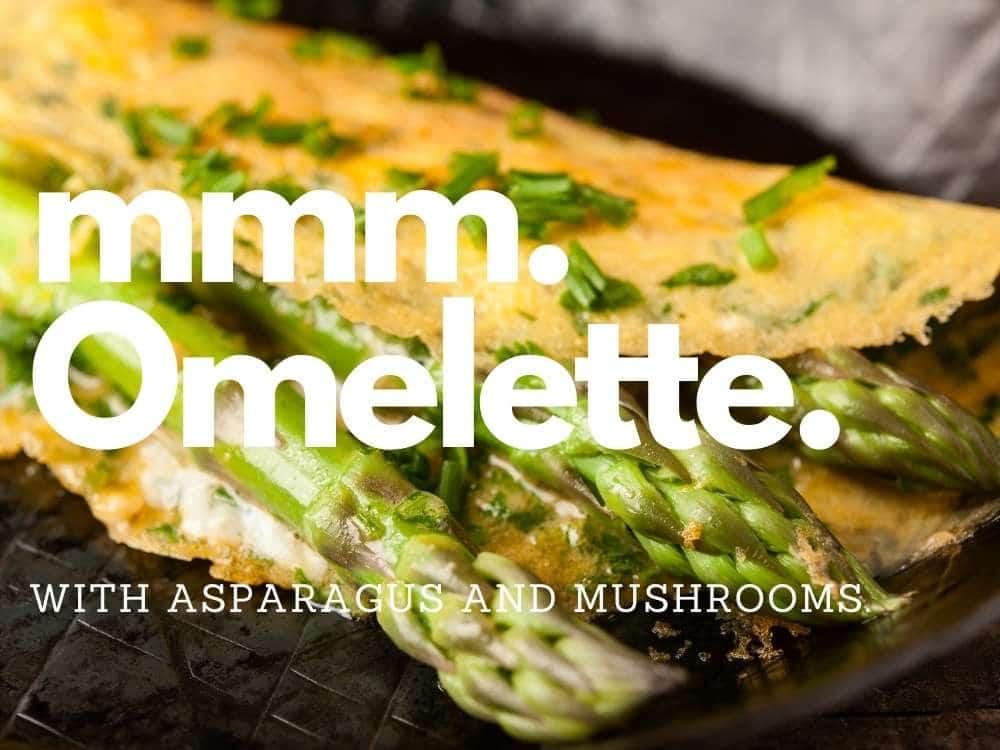 Ostego Asparagus Omlette