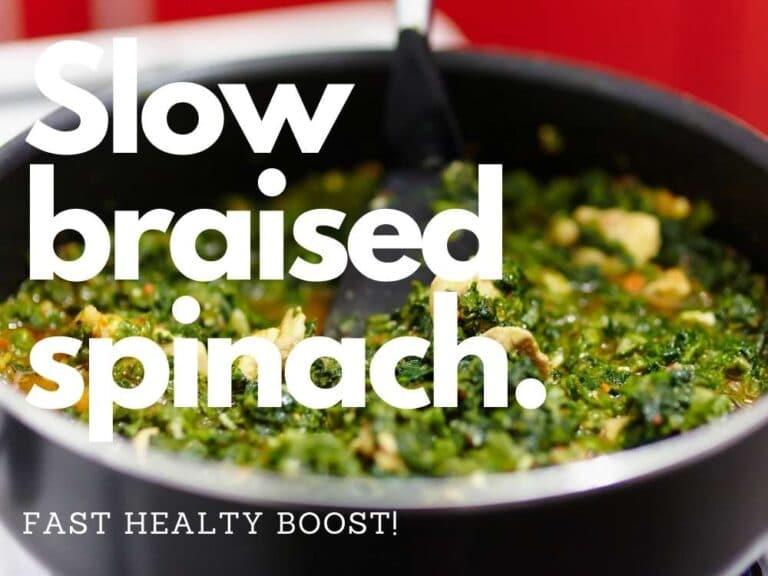 Ostego Braised Spinach
