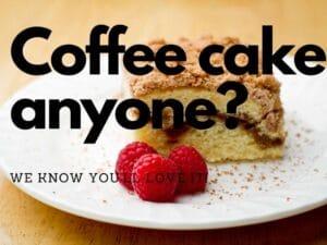 Ostego Raspberry Coffee Cake