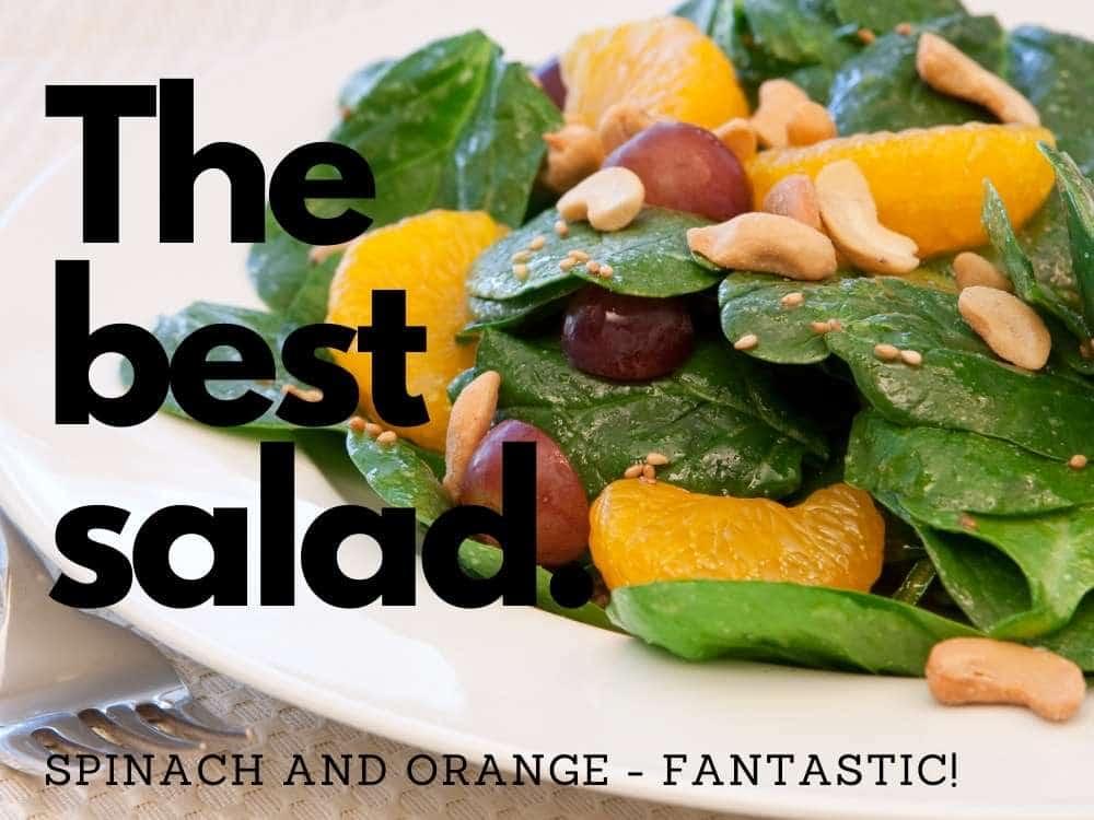 Ostego Spinach Salad