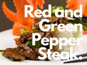 Ostego Pepper Steak