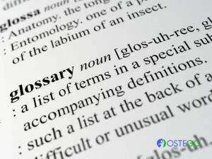 bone health related glossary