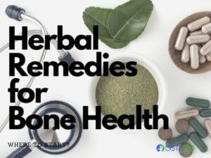 herbal remedies to improve bone health